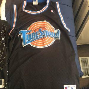 Jordan space jam tune squad jersey